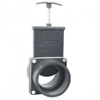Vanne guillotine FF à coller 90 mm