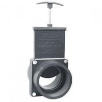 Vanne guillotine FF à coller 110 mm