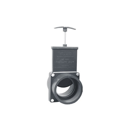 Vanne guillotine FF à coller 75 mm
